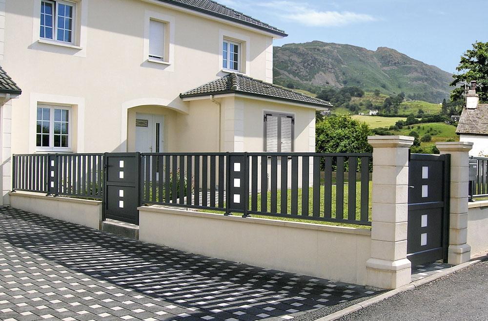 Sun Concept propose de nouveaux portails et clôtures